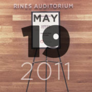 May 2011 at Rines Auditorium